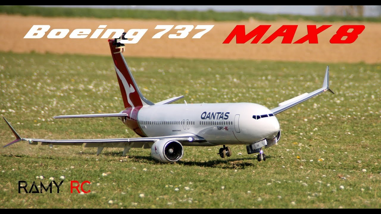 Boeing 737 MAX-8 RC