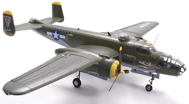 Радиоуправляемая модель американского самолета B25