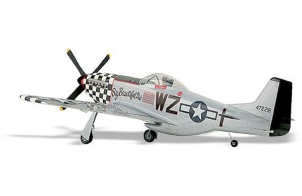 Радиоуправляемая модель P 51 Mustang RC